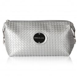Сумка для косметики срібна Cosmetic Bag Silver