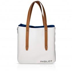 Сумка для покупок біло-голуба Shopping Bag White & Blue