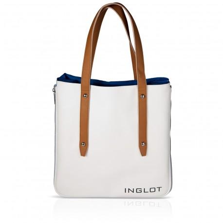 СУМКА ДЛЯ ПОКУПОК, БЕЛО-ГОЛУБАЯ Shopping Bag White & Blue