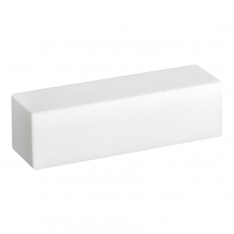 Полірувальній блок для нігтів White Sanding Block