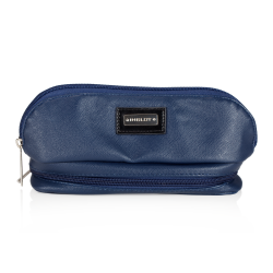 КОСМЕТИЧКА Cosmetic Bag Dark Blue with Mirror (R23388)