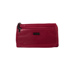 КОСМЕТИЧКА Cosmetic Bag Red & Gold (R23676C)