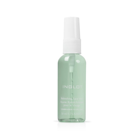 ОСВІЖАЮЧИЙ ТА ЗВОЛОЖУЮЧИЙ СПРЕЙ ДЛЯ ОБЛИЧЧА Refreshing Face Mist Combination to Oily Skin