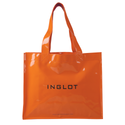 Сумка для покупок PATENTED SHOPPING BAG NEON ORANGE