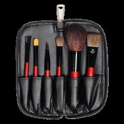 Набір пензликів для нанесення косметики Travel Brush Set (6 PCS)