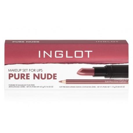 Набор для нюдового макияжа губ / Makeup Set For PURE NUDE